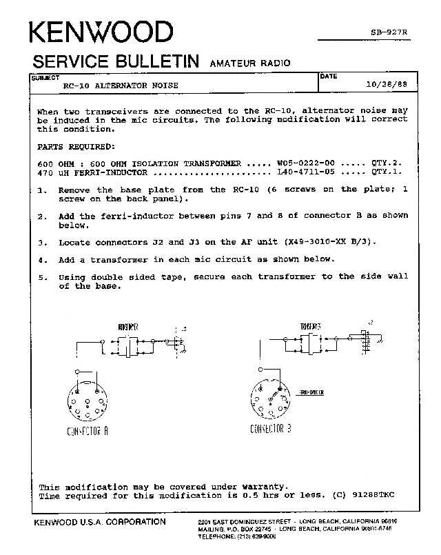 Kenwood RC 10 ASB0927 kenwood kenwood mc 50 wiring diagram at panicattacktreatment.co