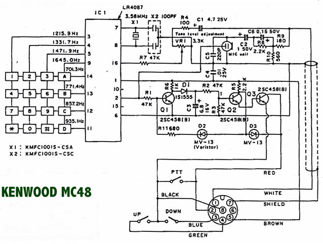 Kenwood Mc 50 Wiring Diagram - Wiring Diagrams IMG on
