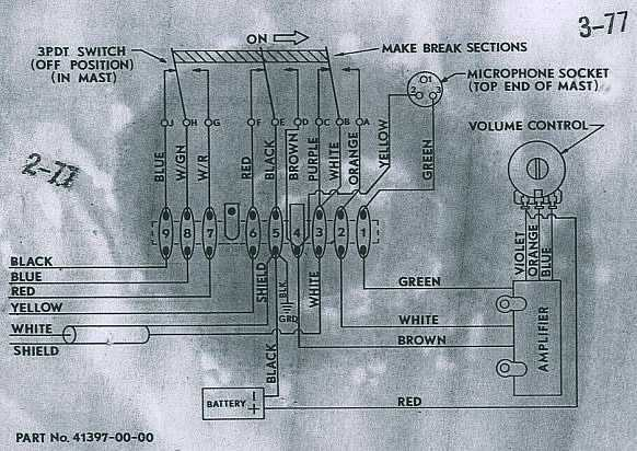 Astatic D104 Schematic Diagram